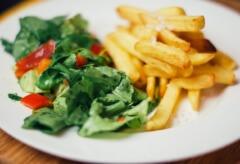Dietetyczne frytki